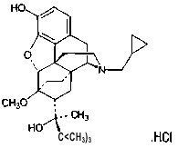 STRUCTURAL FORMULA OF BUPRENORPHINE